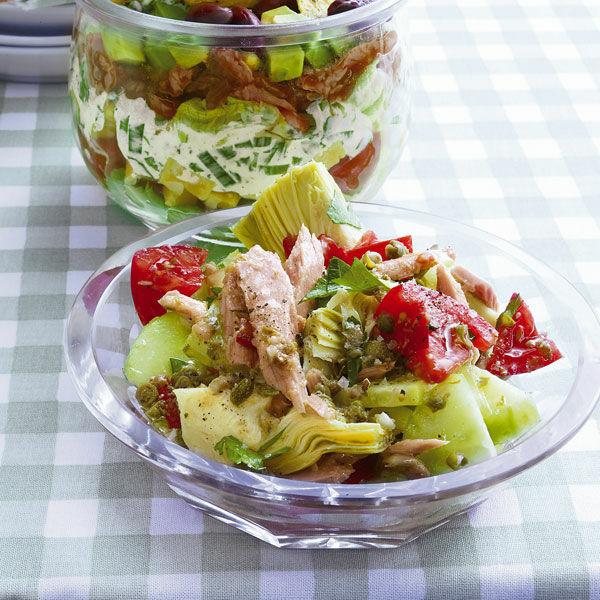 Artischocken Tunfisch Salat Rezept Küchengötter