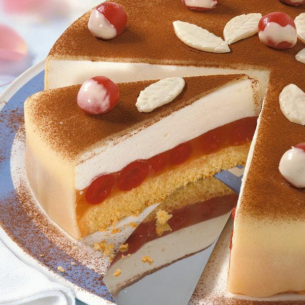 Kirsch Marzipan Torte Rezept Kuchengotter