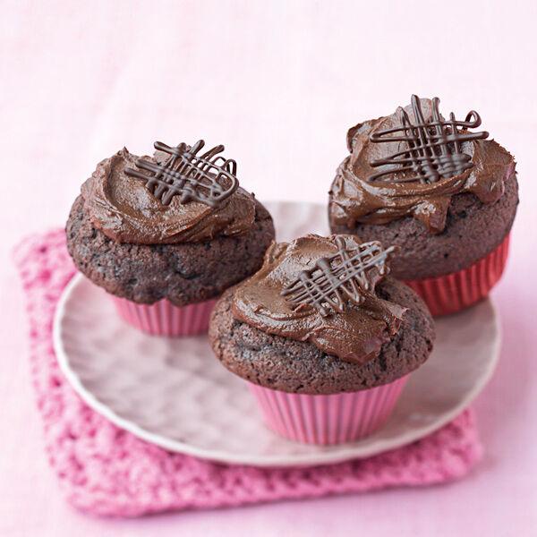 Must Have Schokoladen Cupcakes Rezept Kuchengotter