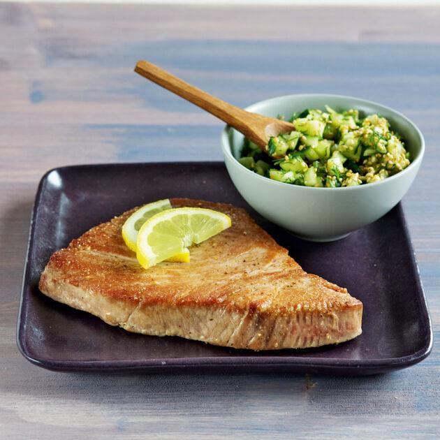 Thunfischsteaks Rezept | Küchengötter