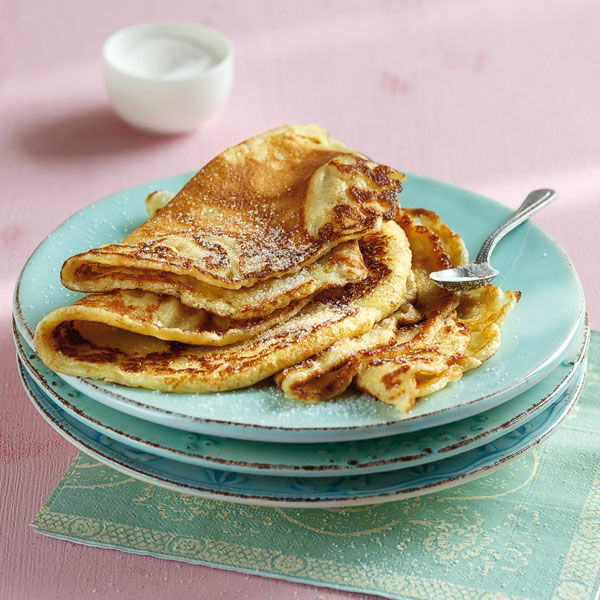 Grundrezept Süße Pfannkuchen Rezept Küchengötter