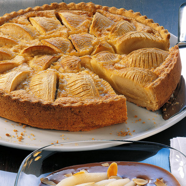 Apfelkuchen Mit Rahmguss Rezept Kuchengotter