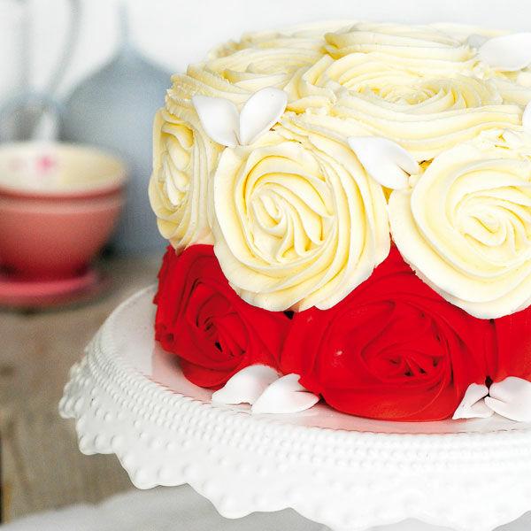Teerosen Torte Rezept Kuchengotter