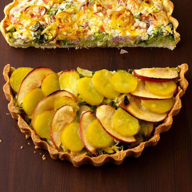 Gemusekuchen Mit Apfel Rezept Kuchengotter