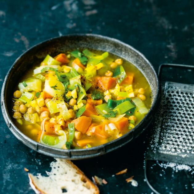 Süßkartoffel-Lauch-Suppe Rezept | Küchengötter