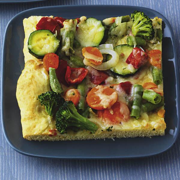 Schnelle Gemüse Pizza Rezept Küchengötter