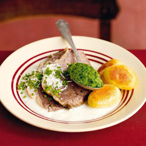 Gekochter Tafelspitz Mit Meerrettich Rezept Küchengötter