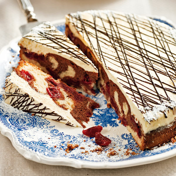 Donauwellen Torte Rezept Kuchengotter