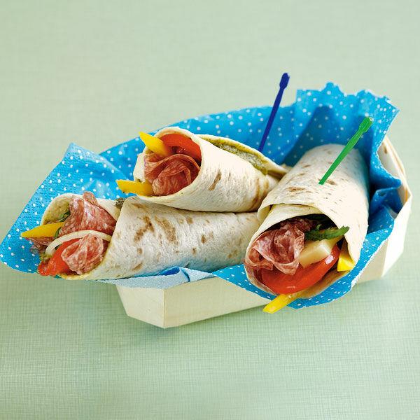 Italo-Wraps Rezept | Küchengötter