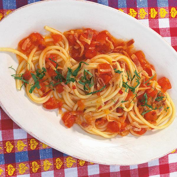 Spaghetti all\'amatriciana Rezept   Küchengötter