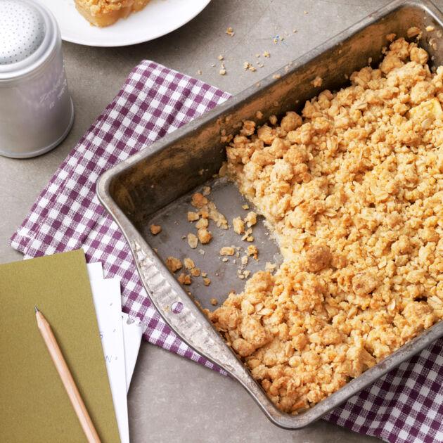 Rezept Bilder apple crumble mit zimt rezept küchengötter