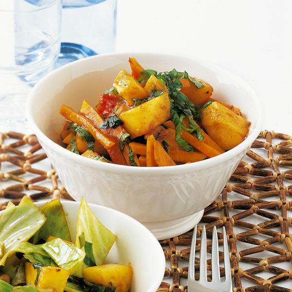 Kürbis Mango Curry Rezept Küchengötter