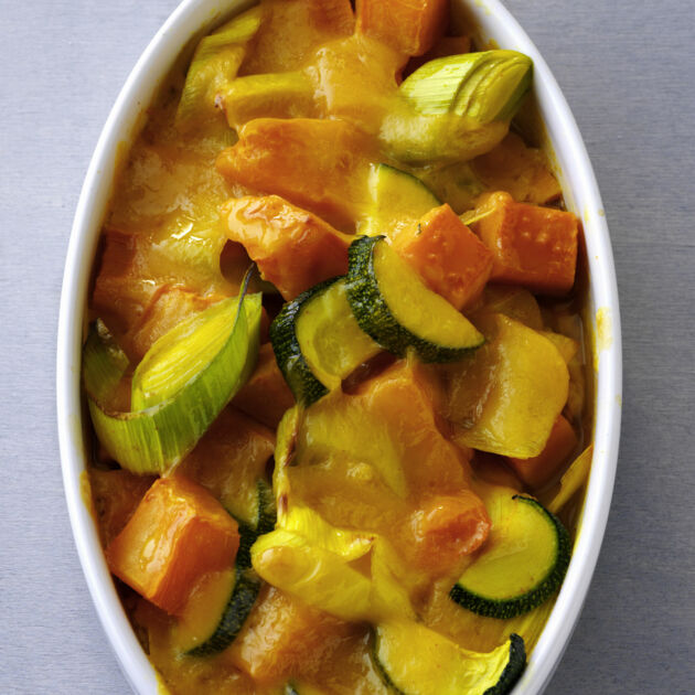 Süßkartoffel Auflauf Rezept Küchengötter