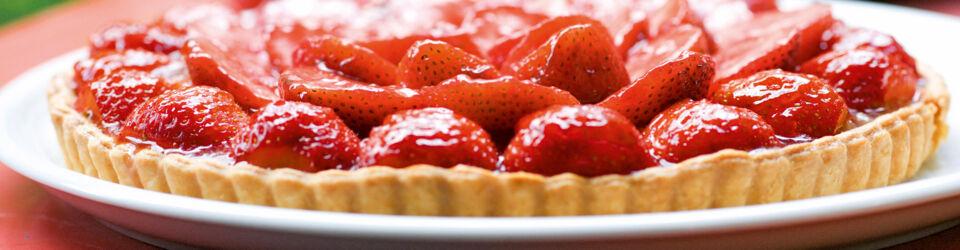 Erdbeerkuchen Torten Rezepte Tipps Ideen Küchengötter