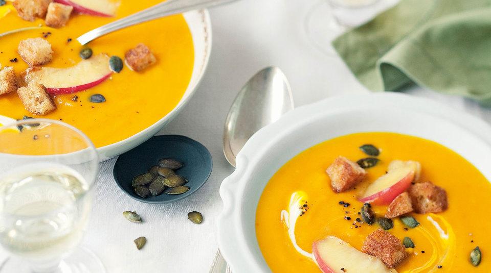 Rezepte für Kürbissuppe | Küchengötter