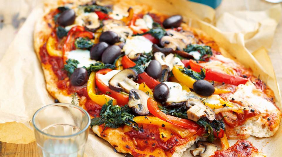 Etwas Neues genug Die besten Rezepte für vegetarische Pizza   Küchengötter @ZZ_53