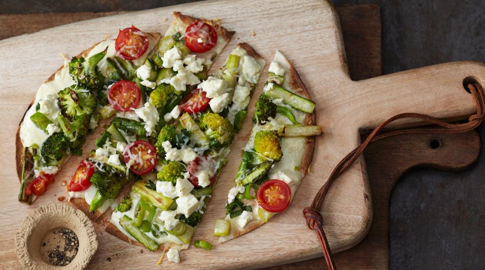 die besten rezepte f r vegetarische pizza k cheng tter. Black Bedroom Furniture Sets. Home Design Ideas