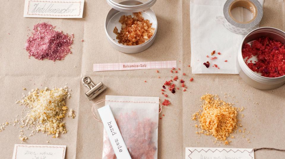 Verpackungen und Etiketten für Geschenke aus der Küche | Küchengötter