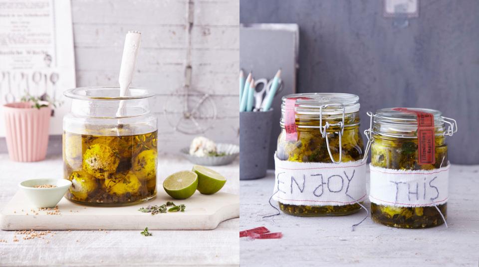 Marmeladen Eingemachtes Als Geschenk Verpacken Küchengötter