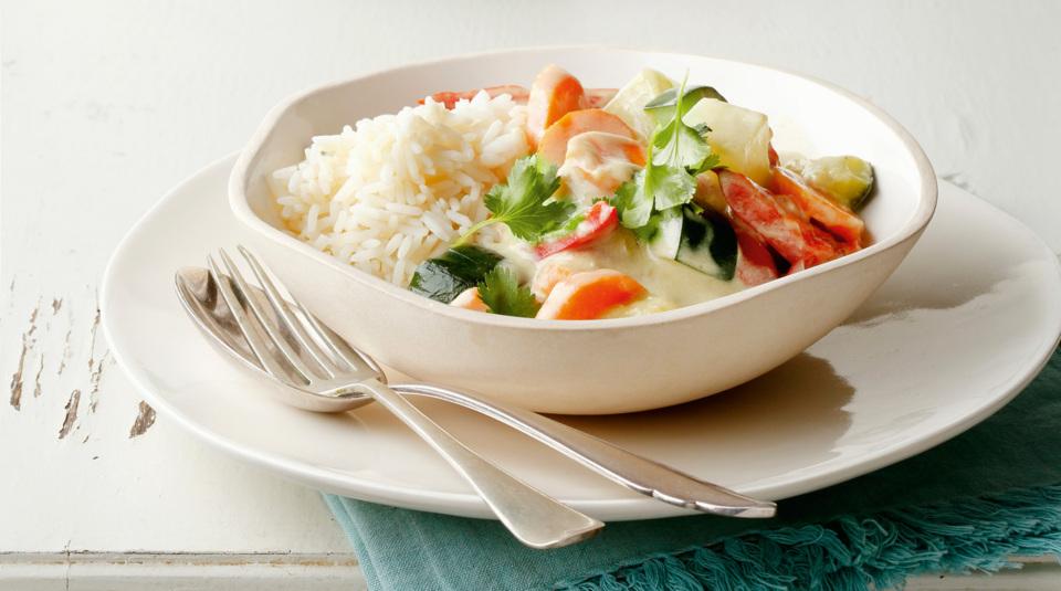 vegetarische rezepte - [essen und trinken]. erbsen-kartoffel-curry ...