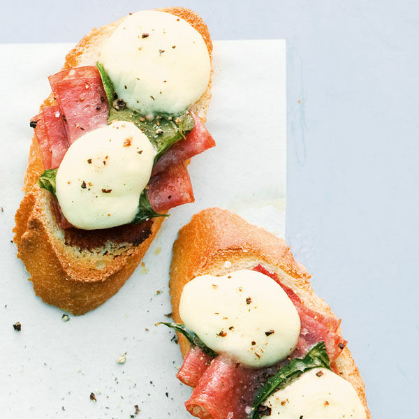 Pizza-Crostini
