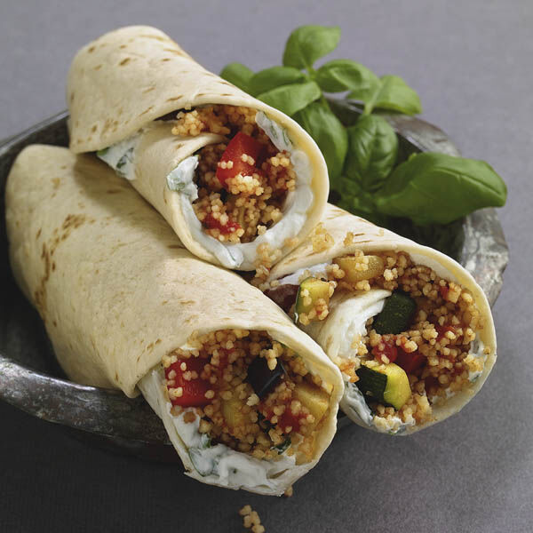 couscous wraps mit ratatouille rezept k cheng tter. Black Bedroom Furniture Sets. Home Design Ideas