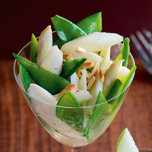 zuckerschoten spargel salat rezept k cheng tter. Black Bedroom Furniture Sets. Home Design Ideas
