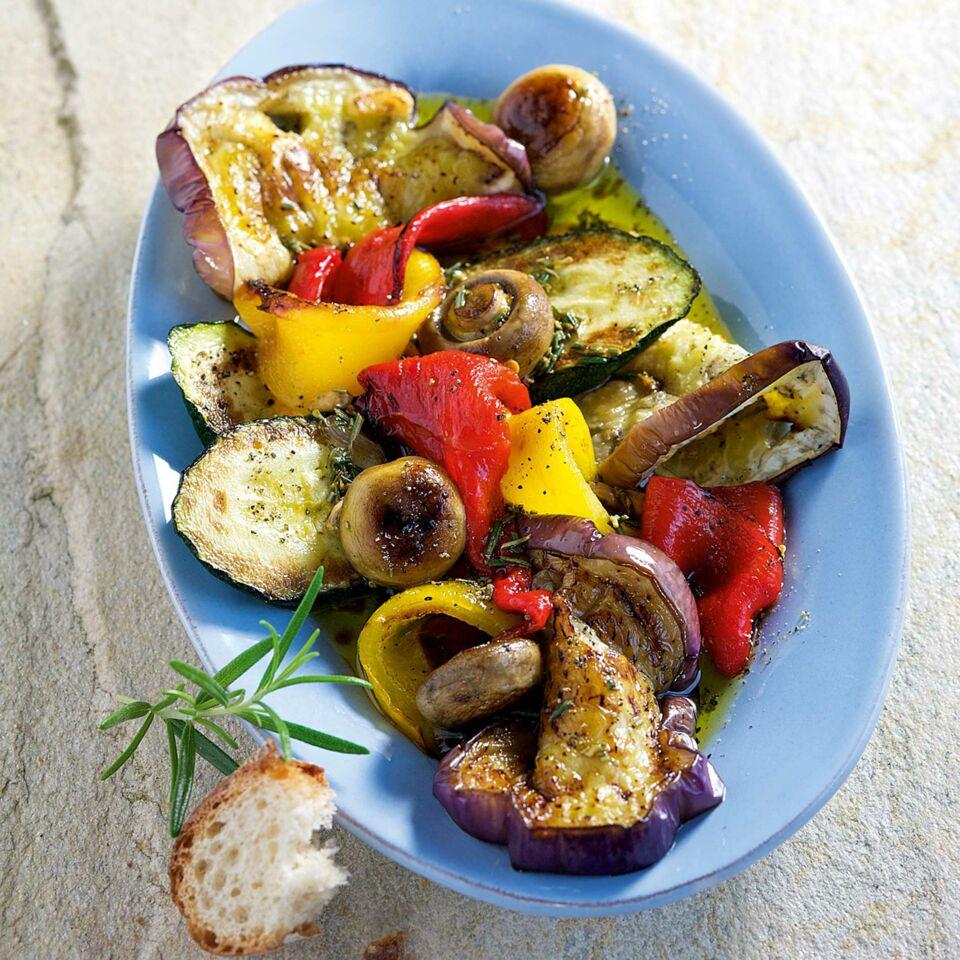 Gegrillte Antipasti Rezept Küchengötter