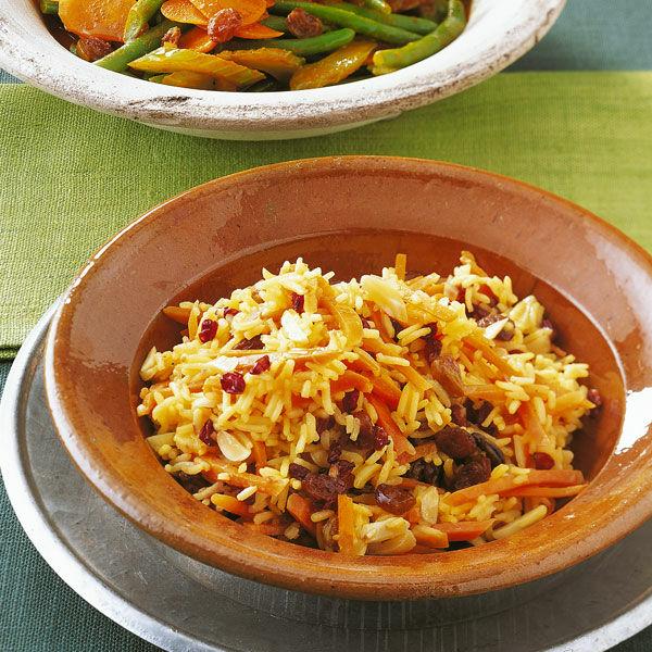 Persischer Möhrenreis Rezept   Küchengötter