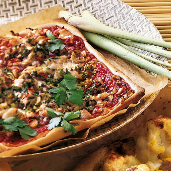 Thai-Pizza