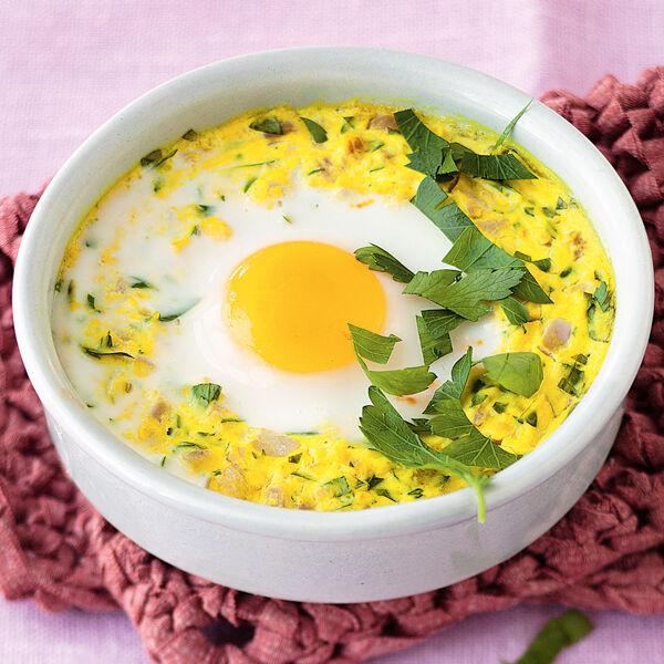 Eier mit schinken rezept k cheng tter - Eier kochen dauer ...