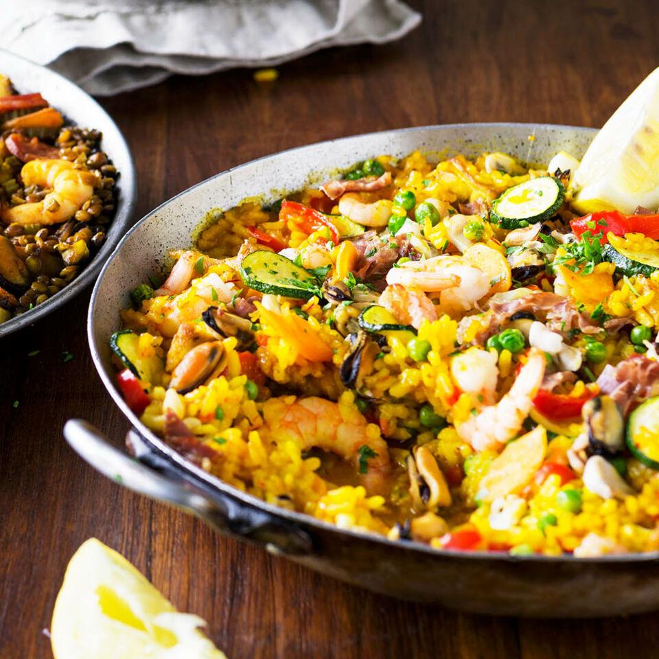 Gem se paella mit meeresfr chten rezept k cheng tter - Kochen nach saison ...