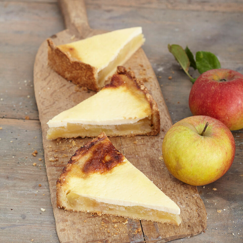 Apfel Schmandkuchen Rezept Kuchengotter
