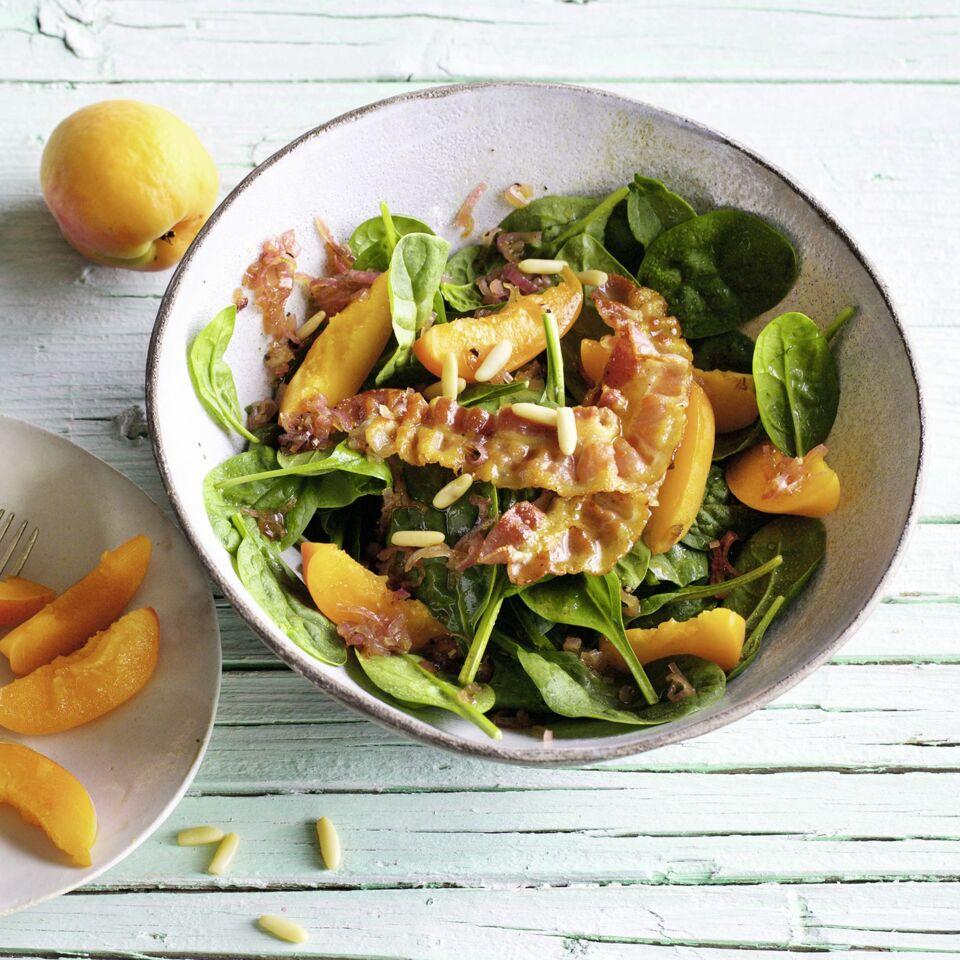 spinat aprikosen salat rezept k cheng tter. Black Bedroom Furniture Sets. Home Design Ideas