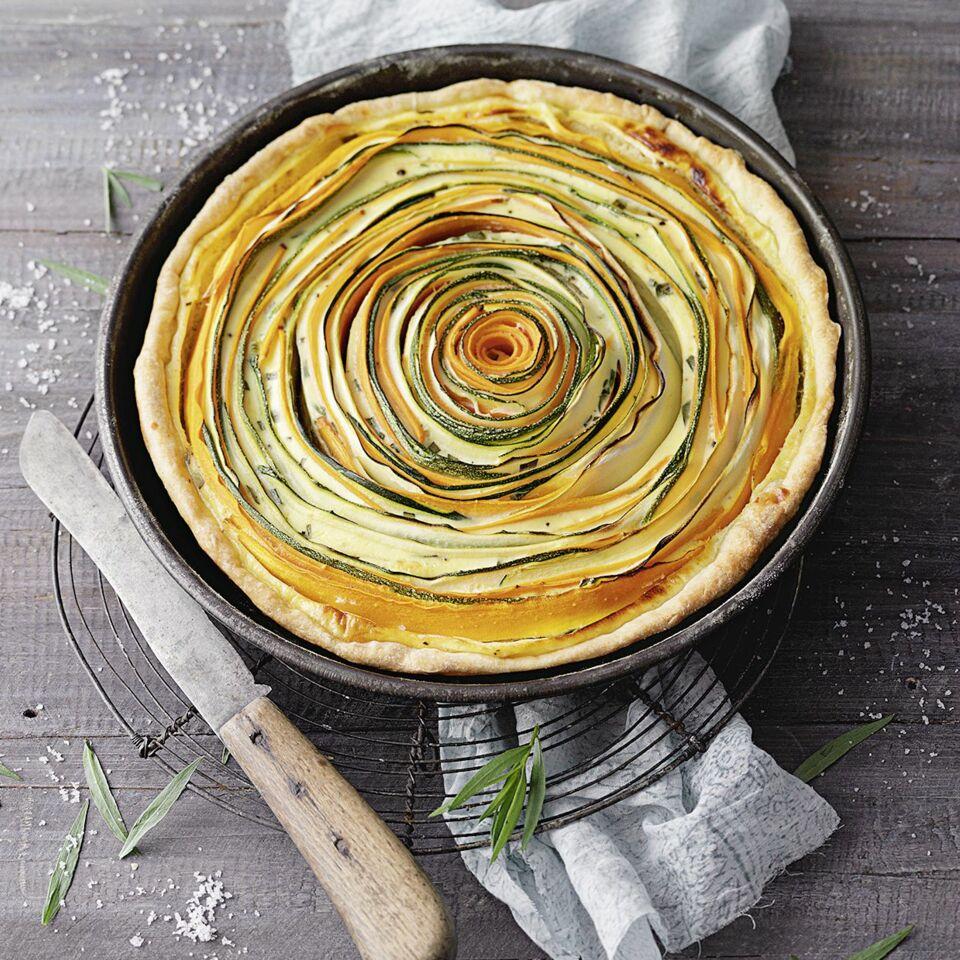 Zucchini Mohren Tarte Rezept Aus Gemusenudeln Kuchengotter