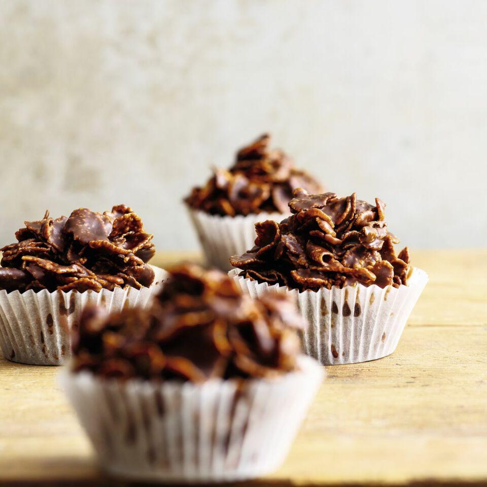 Kleine Cornflakes Kuchen Mit Schokolade Rezept Kuchengotter