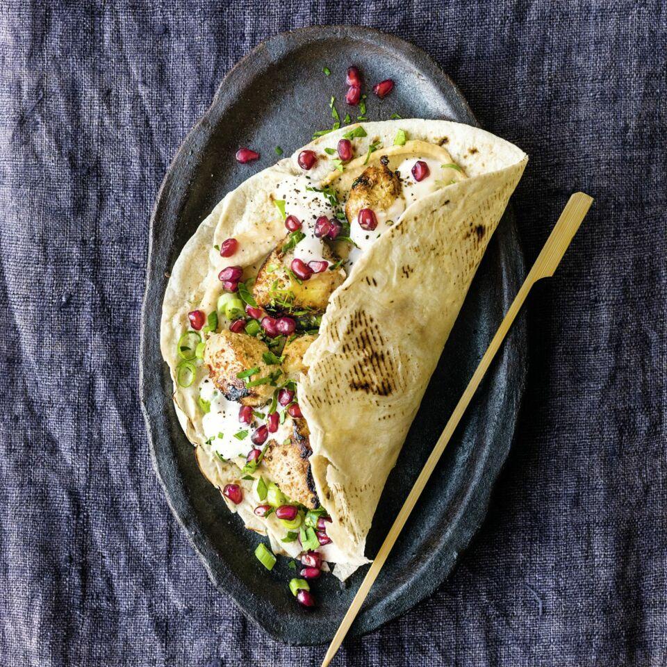 Shish Taouk mit Granatapfel