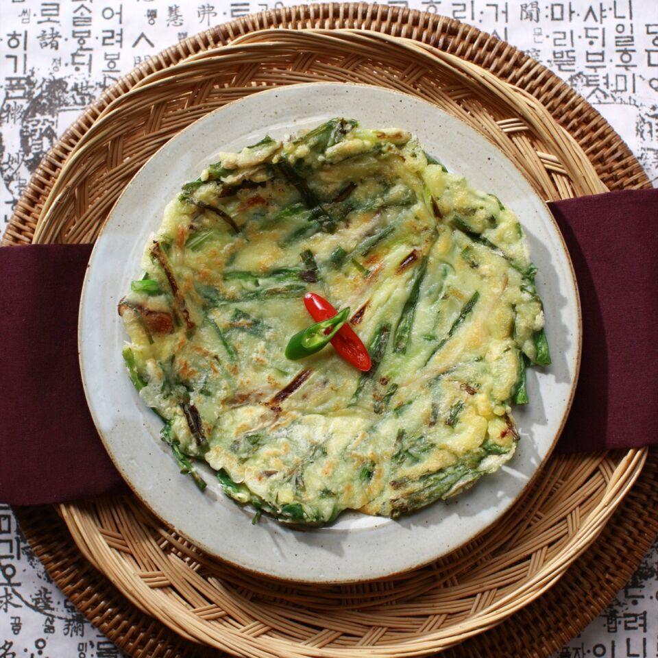 Pajeon – Koreanischer Pfannkuchen