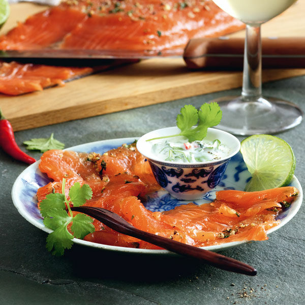 Asia-Graved Lachs