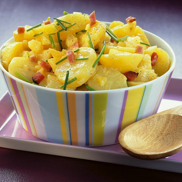 Würziger Kartoffelsalat Mit Speck Rezept Küchengötter