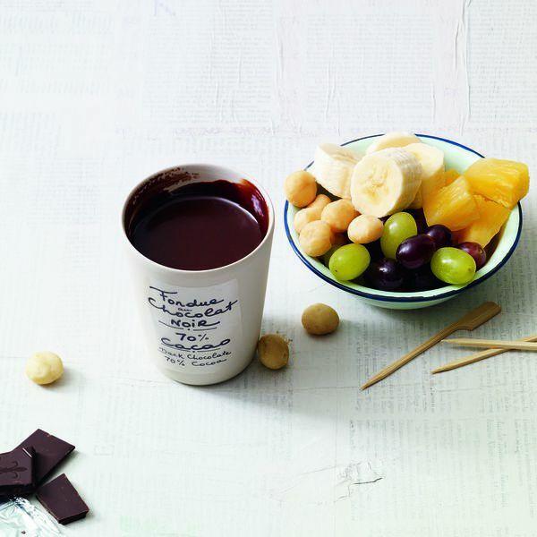mandel schoko fondue rezept k cheng tter. Black Bedroom Furniture Sets. Home Design Ideas