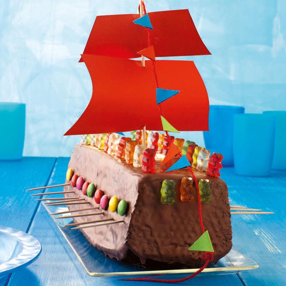 Wikingerschiff Torte Rezept Mit Bild Kuchengotter
