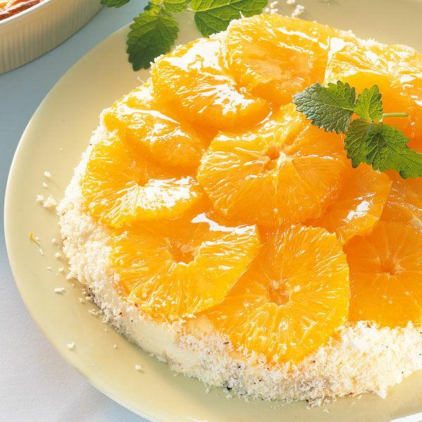 Orangenkuchen Mit Selbst Gemachter Orangenmarmelade Kuchengotter