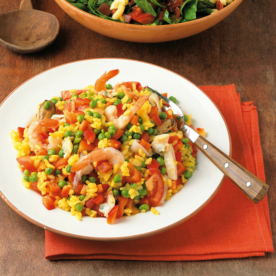 paella salat rezept k cheng tter. Black Bedroom Furniture Sets. Home Design Ideas
