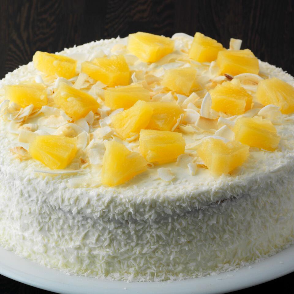 Schnelle Ananas Kokos Torte Rezept Kuchengotter