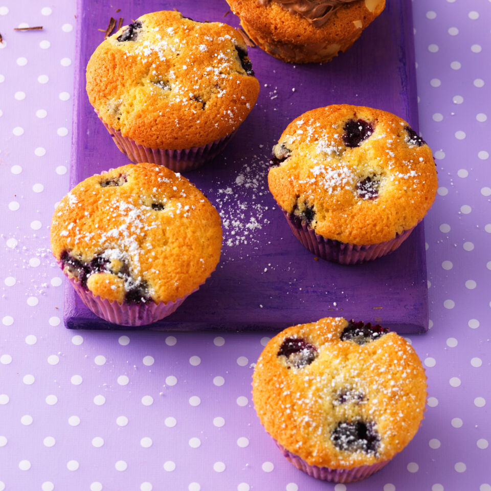 einfache heidelbeer muffins rezept k cheng tter. Black Bedroom Furniture Sets. Home Design Ideas