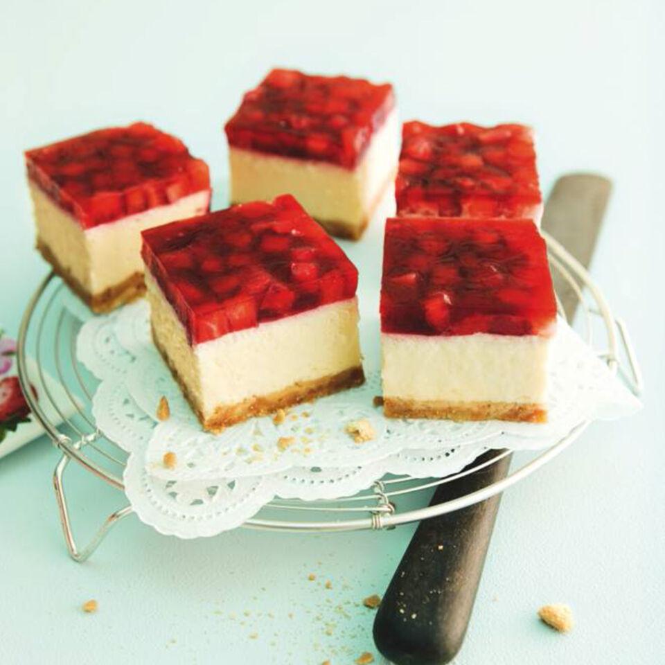 rezept f r cheesecake mit erdbeeren k cheng tter. Black Bedroom Furniture Sets. Home Design Ideas