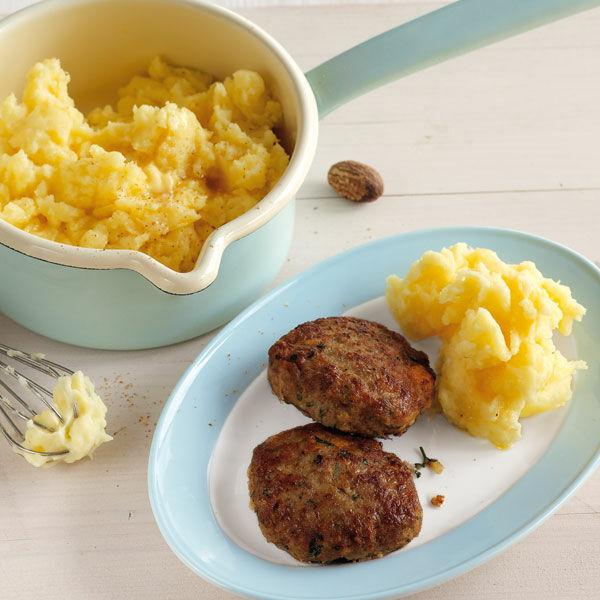 frikadellen mit kartoffelp ree rezept k cheng tter. Black Bedroom Furniture Sets. Home Design Ideas