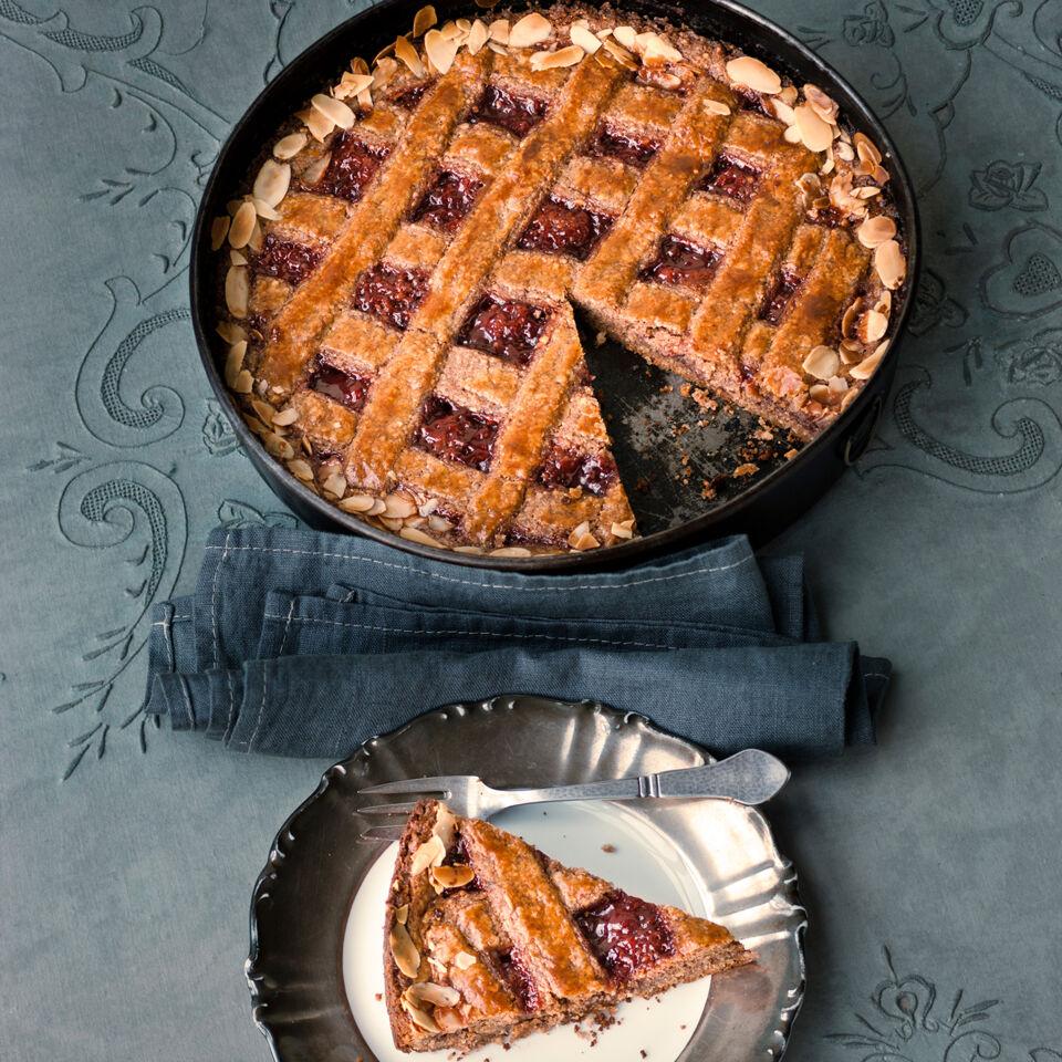 Klassische Linzer Torte Rezept Kuchengotter