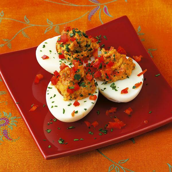 Gef llte paprika eier rezept k cheng tter - Eier kochen dauer ...